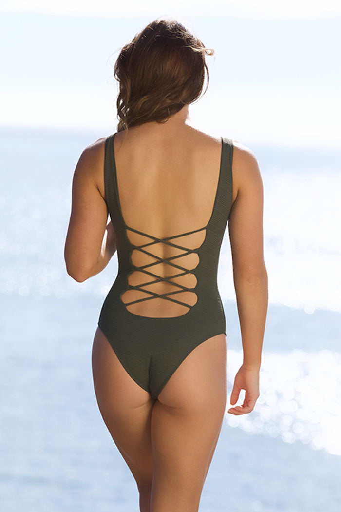 Solstice Corseted One-Piece Swimsuit