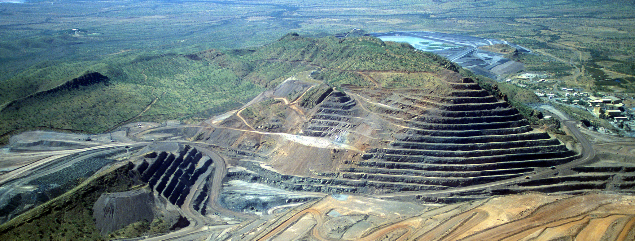 Diamond Mine in Southern Africa