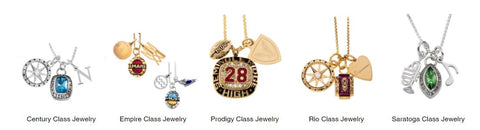 5 Class Necklaces to choose from