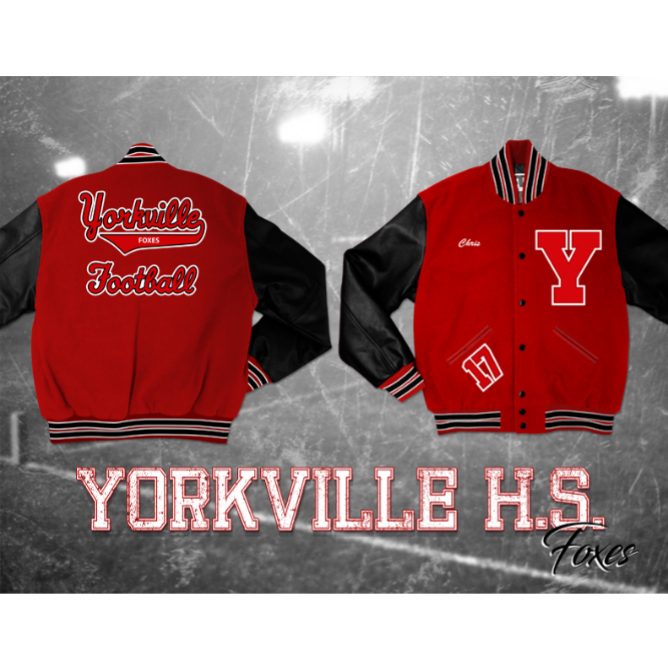 Yorkville High School - Customer's Product with price 250.95