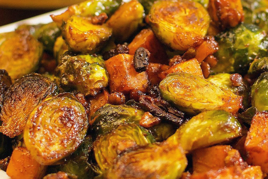 Bourbon BBQ Brussels Sprouts