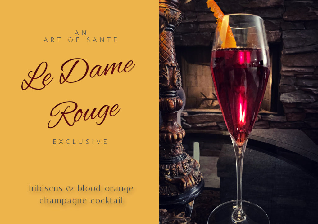 La Dame Rouge - Champagne Cocktail