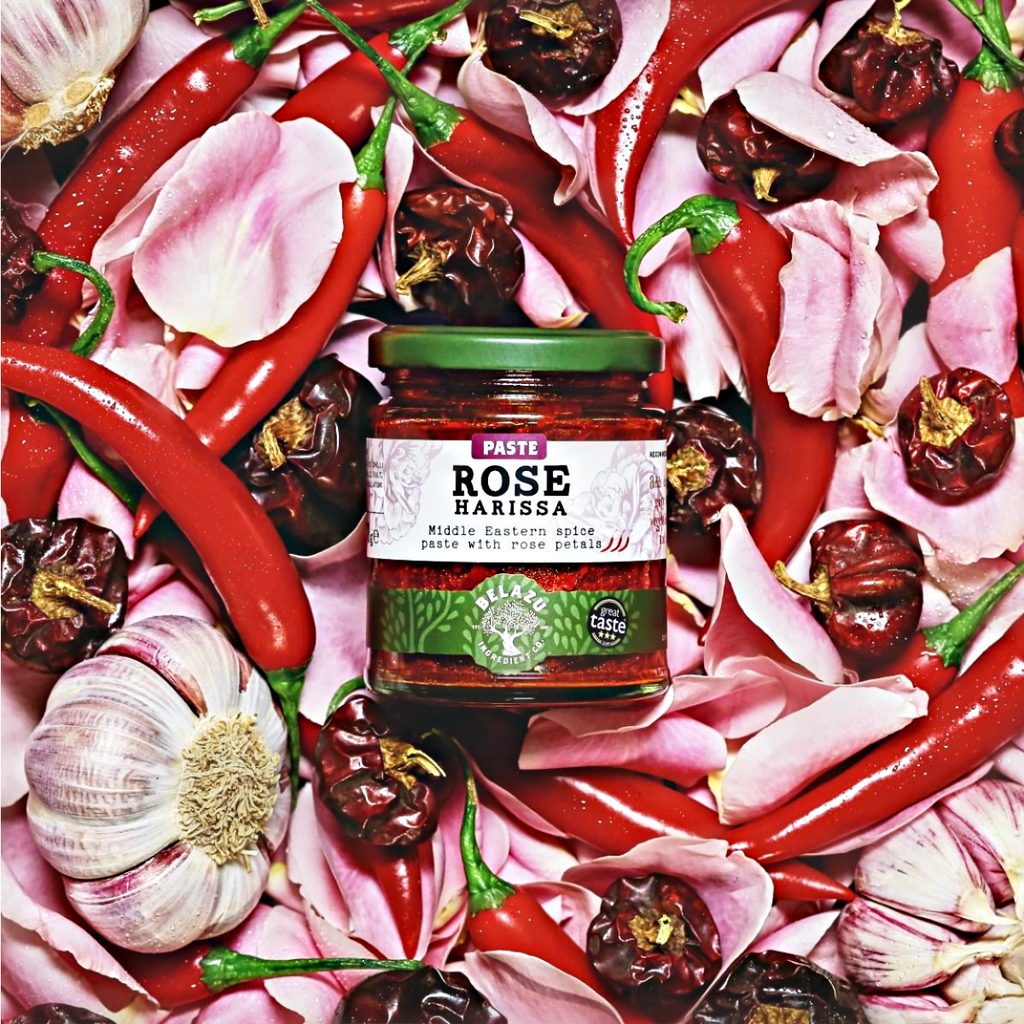 ROSE HARISSA: Middle Eastern Spice Paste