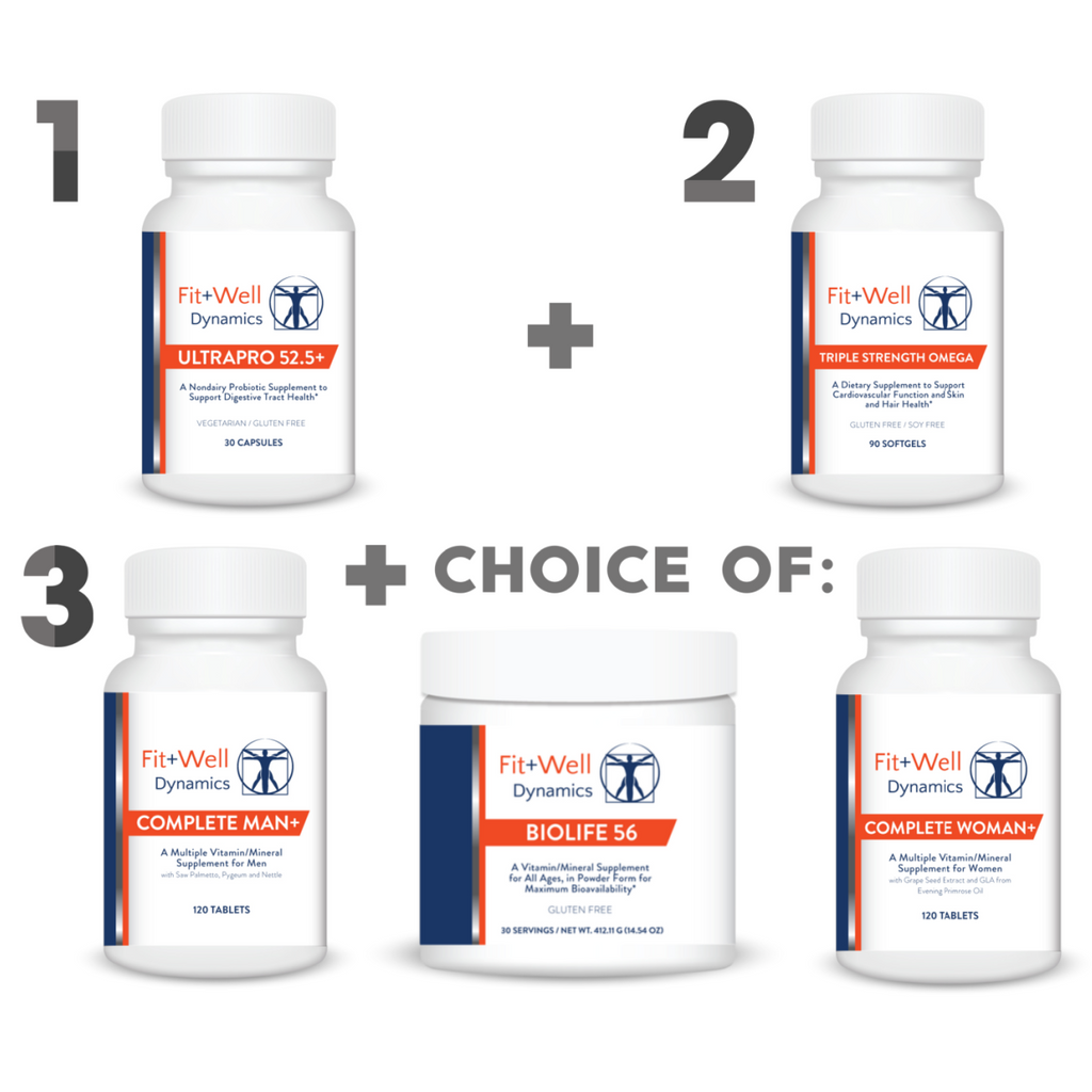 FIT+WELL HEALTH TRIFECTA - Value Bundle