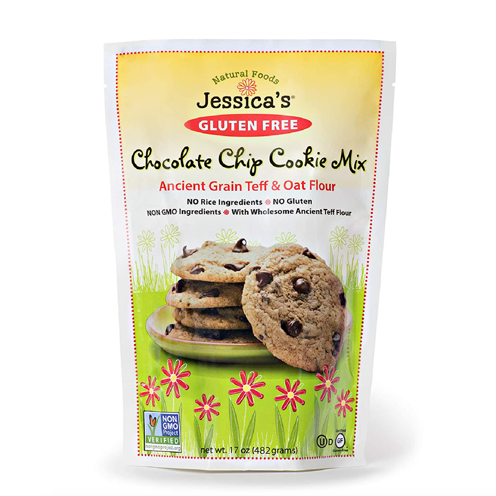 GLUTEN FREE CHOCOLATE CHIP COOKIE MIX: Ancient Grain Teff & Oat Flour