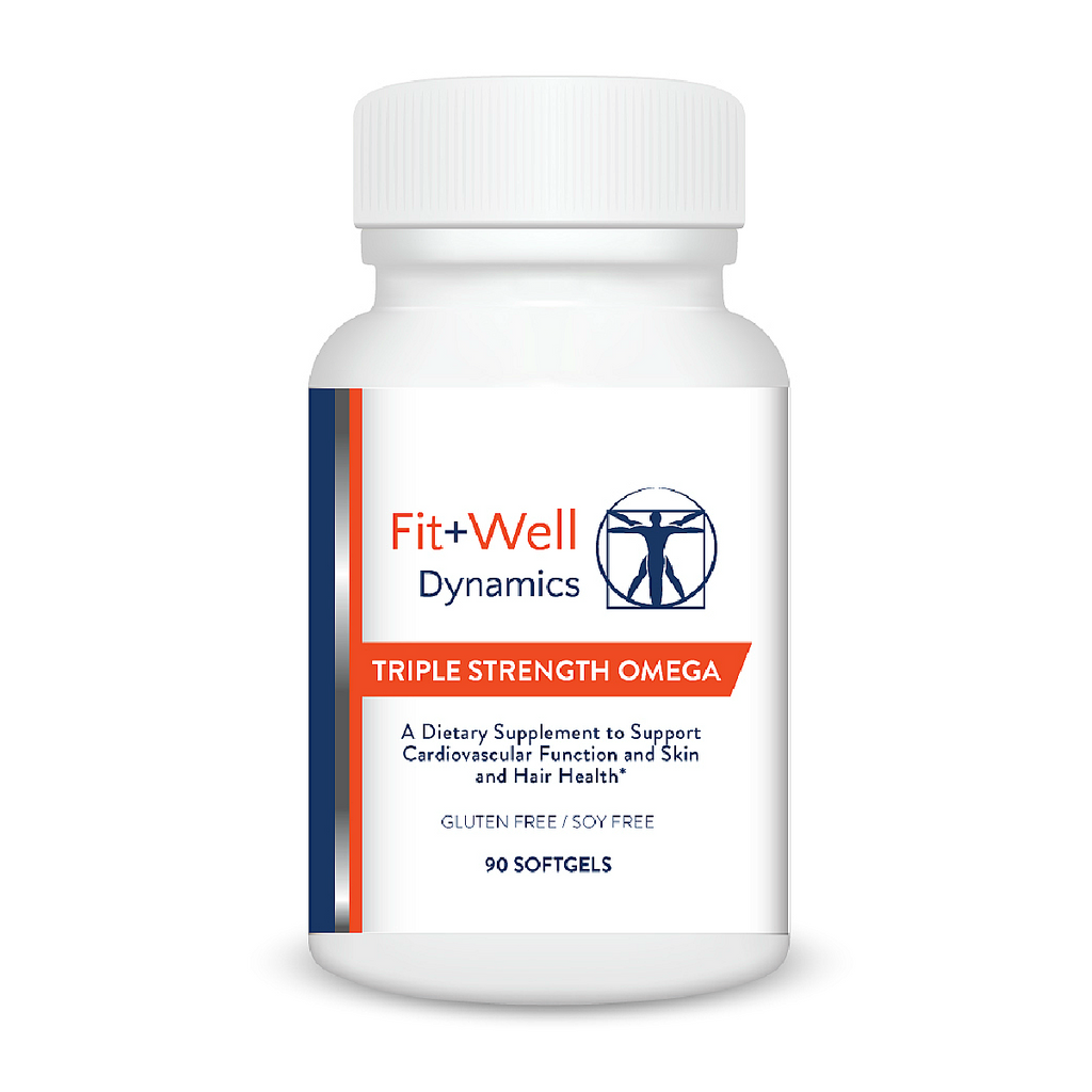 TRIPLE STRENGTH OMEGA: Optimal Omega 3-6-9 Blend