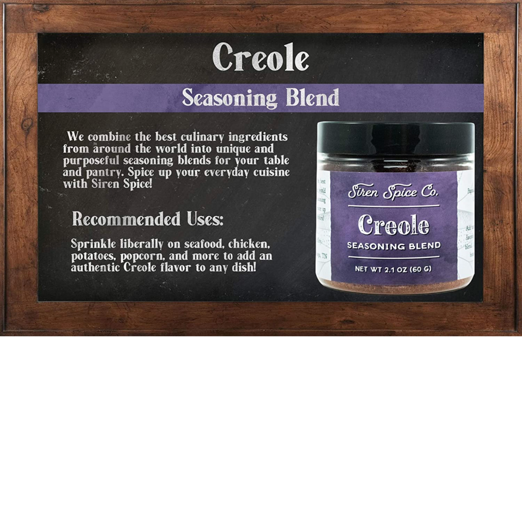 CREOLE: Salt Free Seasoning Blend