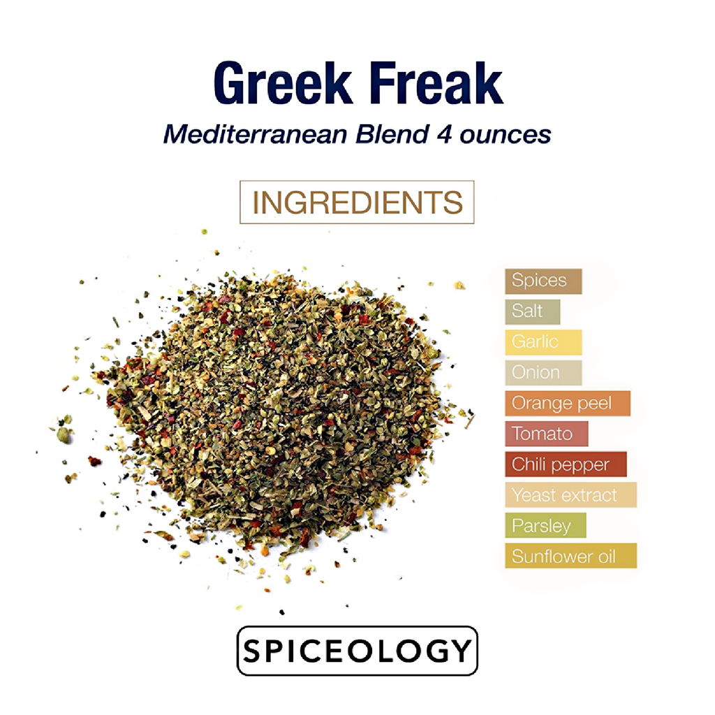 GREEK FREAK: Gourmet Mediterranean Rub & Seasoning