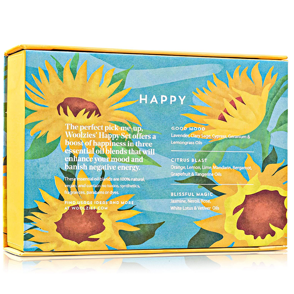 HAPPY COLLECTION: Home, Body & Laundry Essential Oils