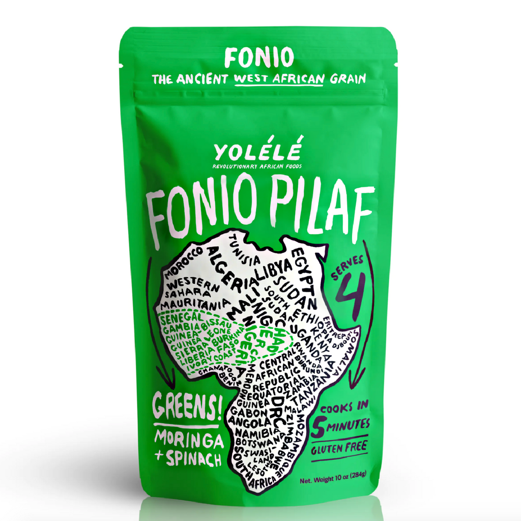GREENS! FONIO PILAF: Ancient West African Grain