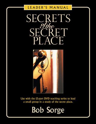 Secrets of the Secret Place Leader's Manual (eBook)