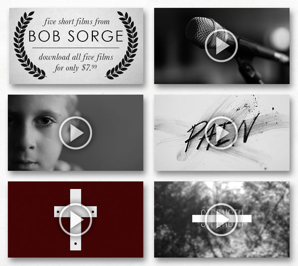 Bob Sorge Film Bundle