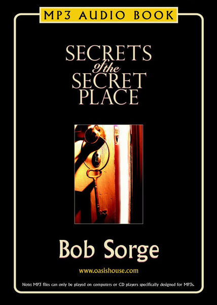 Secrets of the Secret Place Audio Book on MP3 Disc