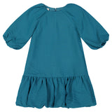 FLORA Cupcake Dress - TEAL - FINAL SALE