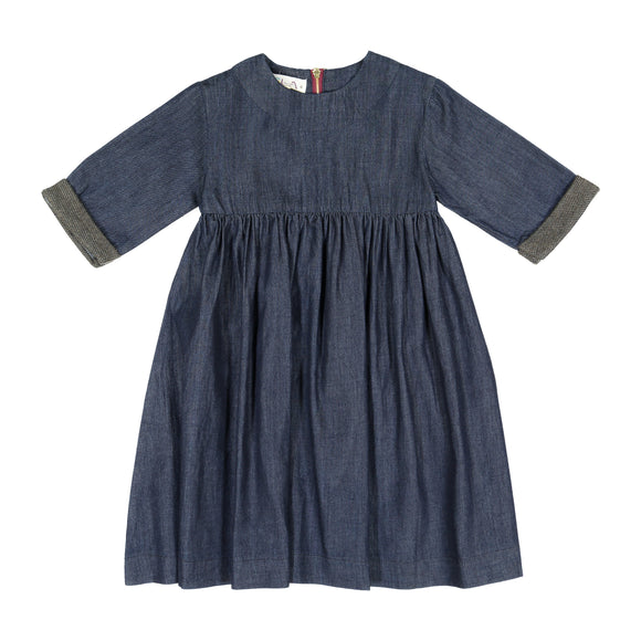DENIM High Waist Dress - FINAL SALE