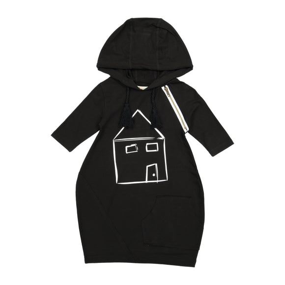 HOODIE House Print Dress