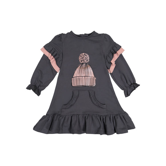 HANA Hat Kangaroo Pocket Dress - FINAL SALE