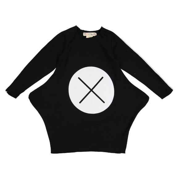 LILY X Marks the Spot Triangle Dress - Black - FINAL SALE