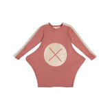 LILY X Marks the Spot Triangle Dress - Dusty Rose - FINAL SALE