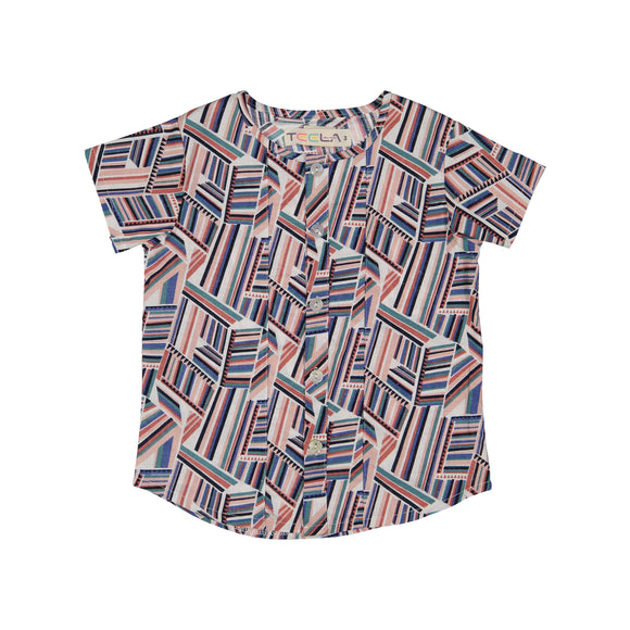 Teela Boy's Geometric Shirt