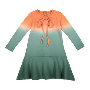 MOLA Dip Dye Bow Dress