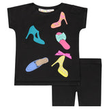 SHOE Baby Set - Black