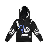 JAI Punctuation Hoodie Top - size up