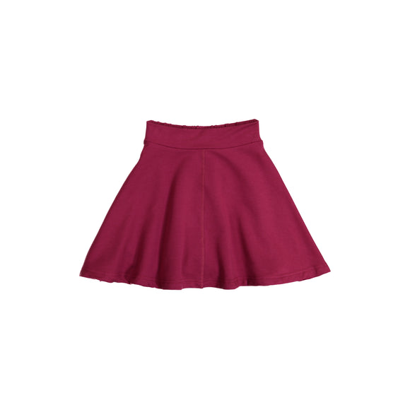 KNIT Circle Skirt - Fuchsia