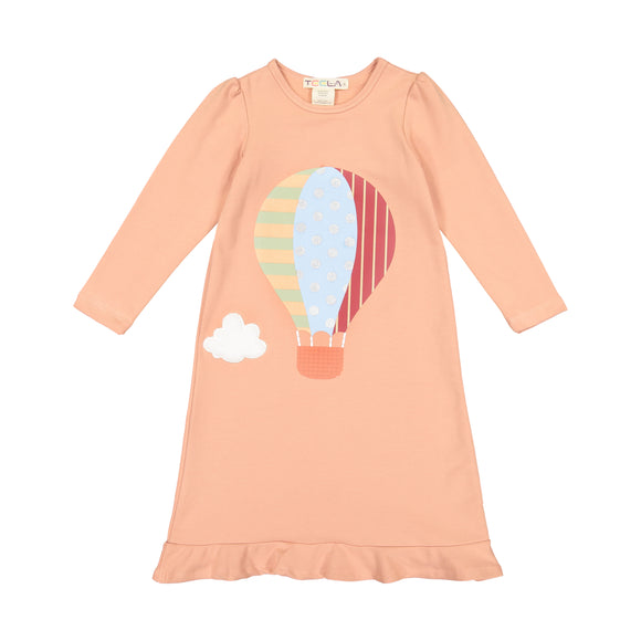 Hot Air Balloon Blush Pink Nightgown - FINAL SALE