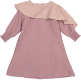 ZOE Cape Dress - Orchid
