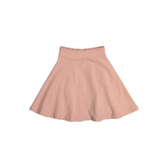 KNIT Circle Skirt - Blush