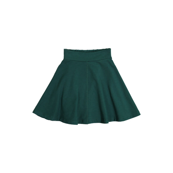 KNIT Circle Skirt - Hunter