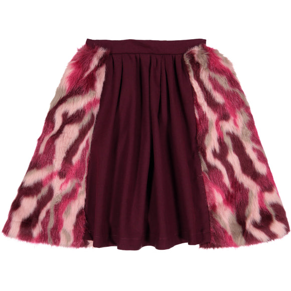 LARA Fur Skirt - FINAL SALE