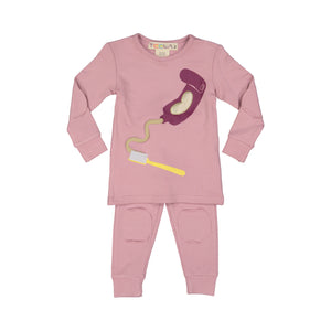 Girls' Toothpaste Pajamas - RUNS SMALL!! SIZE UP! - FINAL SALE