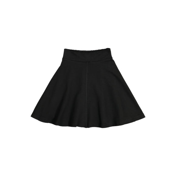 KNIT Circle Skirt - Black