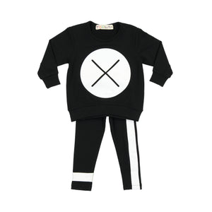 BABY X Marks the Spot Set - Black