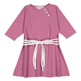 RAGLAN Dress - Rose