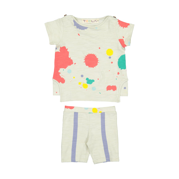 PAINT SPLATTER Baby Set
