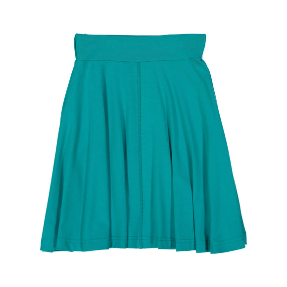 BASIC KNIT Circle Skirt - Teal