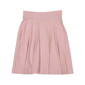 BASIC KNIT Circle Skirt - Blush