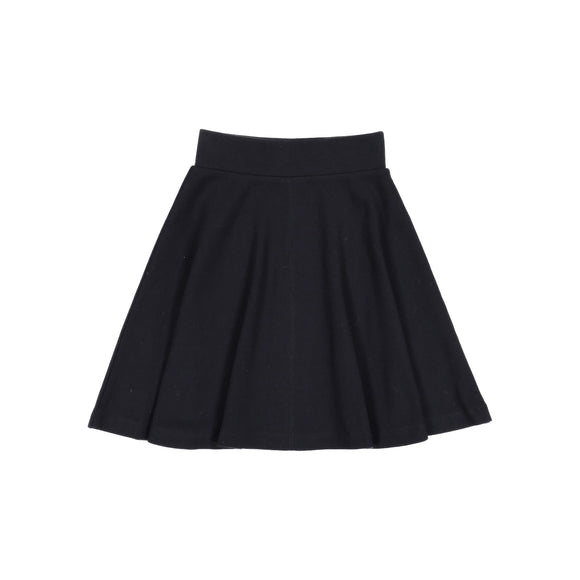 RIB skirt - Black - FINAL SALE