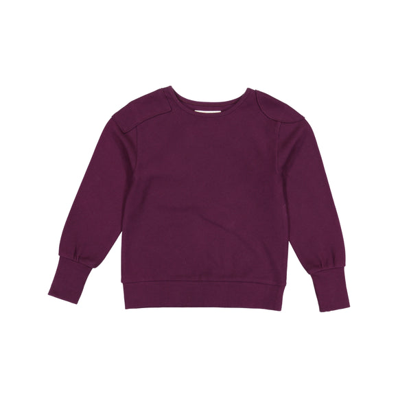 RIB unisex top - Plum - FINAL SALE