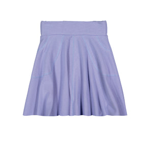 RIB Circle Skirt - Periwinkle