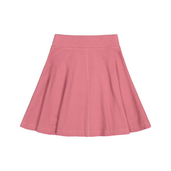RIB skirt - Salmon - FINAL SALE