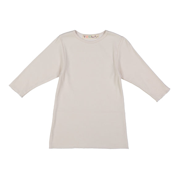 RIB Basic GIRL Tshirt - Ivory