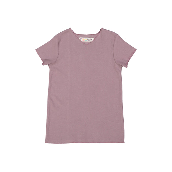 RIB Basic BOY/GIRL Tshirt - Bark