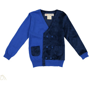 Cardigan ROYAL - runs small size up - FINAL SALE