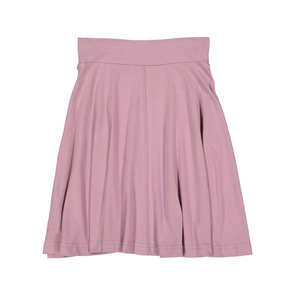 BASIC KNIT Circle Skirt - Orchid
