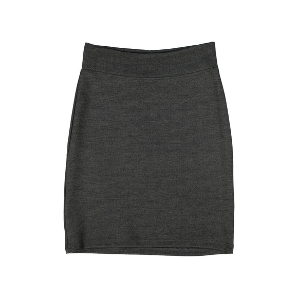 Pencil Skirt - Charcoal Grey