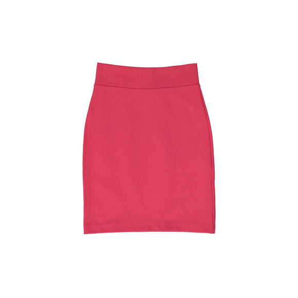 Pencil Skirt - Coral